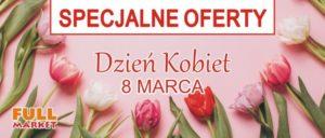 Specjalne oferty na Dzień Kobiet