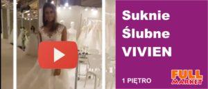 Suknie Slubne Vivien Full Market Krosno
