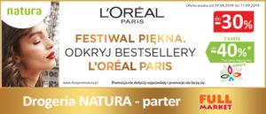 Full Market Festiwal Piękna w Drogerii Natura